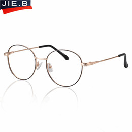 a4584c7b6df0 B New Brand Memory Titanium Eyeglasses Frames Ultra Light Myopia Round  Vintage Glasses Optical Frame for Male and Women