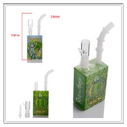 Tazze da dozzina d'olio online-Tazza botti in vetro bong mini bong Dab concentrato olio dab rig rig downstem tubi di acqua di vetro