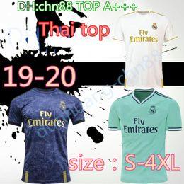 parches de camiseta de fútbol Rebajas 2019 2020 Talla más grande XXL XXXL XXXXL Camiseta de fútbol del Real Madrid 19 20 BALE # 11 ASENSIO # 20 PELIGRO 7 # sergio ramos # 4 camisetas de fútbol con parche