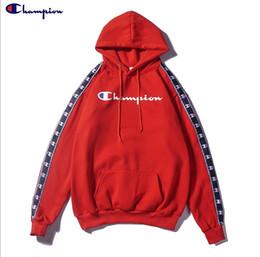 Tout nouveau fonctionnaire en Ligne-Chanpions à capuche mens designer hoodies coton top qualité pulpover champions officiel pull à capuche brodé marque britannique en tête 1: 1