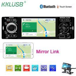 "golf gps telefonieren Rabatt Autoradio 1 DIN 4.1"" Touch Screen FM Radio Auto Auto Audio Stereo Bluetooth Autoradio Unterstützung Spiegel Link-Rückfahrkamera"