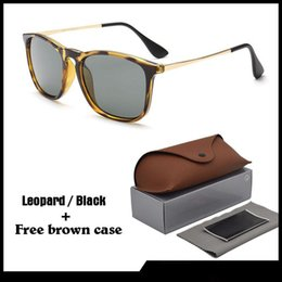 shield leather Promo Codes - High quality men Women Sunglasses Brand Designer Sun glasses Celebrity Eyewear uv400 Lenses with Free Leather cases and box