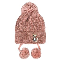 77b9c50bf3e21 New Arrival Hat female winter han edition tide crystal adornment woollen hat  is melting and lovely increase thick knitting joker