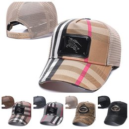 cappelli popolari per gli uomini Sconti hermes burberry All'ingrosso design di lusso di marca estate calda caps uomini donne popolari protezioni del ricamo di baseball unisex Athletic cappello di snapbacks Outdoor Sports
