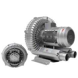 Maquina sopladora online-Ventilador de aire seco de alta presión industrial de la bomba de vacío de Vortex para la máquina industrial