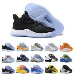 Billig Verkauf PG 3 Black Mamba Mentality Schuhe 3s Nasa Verschiffen Qualitäts PG3 Basketball Schuhe Sportschuhe