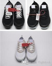 2019 паров 2.0 мужская обувь Off West VPM дизайнер досуг обувь черный белый случайные дышащие кроссовки с коробкой и на складе X размер США 5,5-11 cheap vapor x от Поставщики пар x