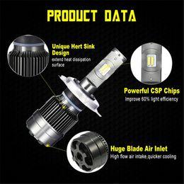 2PCS R6 70W 8400LM LED auto fari lampadine Kit H1 H3 H4 H7 H11 9005 nuovo da luce blu per le piante ha condotto fornitori