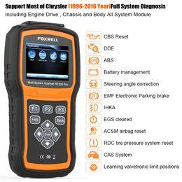 2019 herramienta de diagnóstico oki chip Herramienta de diagnóstico del sistema de ABS SRS EPB EPB del sistema completo de diagnóstico del escáner car.FOXWELL NT520PRO OBD2