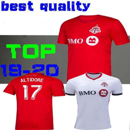 c1edb138e 2019 2020 Toronto FC Soccer Jerseys BRADLEY GIOVINCO ALTIDORE OSORIO 19 20  Toronto Home Red Custom Football Shirt Uniform