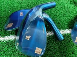 2019 golf keile 2019 ITOBORI blaue Farbe Keilkopf aus geschmiedetem Kohlenstoffstahl Golf Keilkopf Holz Eisen Putterkopf