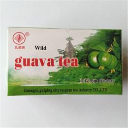 Bebendo chá verde on-line-Preferência 40g Herbal Organic Especialidade 100% natural goiaba folhas de chá Teabags Chá chinês Beba Top-Grade Saudável Green Food