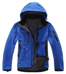 Outdoor caminhadas roupas on-line-Atacado-2016 Mamutes TX Shell Waterproof térmica Outdoor Caminhadas Jacket Men Softshell montanhismo acampamento de esqui Revestimentos