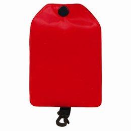 2019 подарочные сумки оптом ЭКО дружественных портативный сумка Сумка с кольцо брелок клип многоразовые складная хозяйственная сумка для путешествий случайный цвет