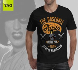 T-shirt Epic CULT Film FURIES BASEBALL - Maillot 1979 Vintage Les guerriers Gangs ? partir de fabricateur