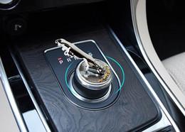 Deutschland Für Jaguar F-Pace / XF / XE / XJ / XJL-Innenausstattung, Gangschaltung 3D-Metall-Aufkleber Gear-Dekoration Versorgung