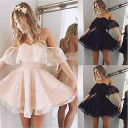 2019 barato atacado china verão vestidos Mulheres Lace Short Dress Cocktail Party Evening Formal vestido de baile Mini Vestidos