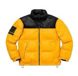 Mens di alta qualità giù cappotto online-Design di lusso Mens giacche North Face nuova marca piumino con la lettera altamente qualità cappotti di inverno sportive di marca parka Top Tuta M-XL