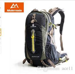 Équipement d'escalade en Ligne-Maleroads Camping Randonnée Sac à dos Sac de sport Voyage Trekk Sac à dos Mountain Climb Equipment 40 50L pour Hommes Femmes mâles Teengers