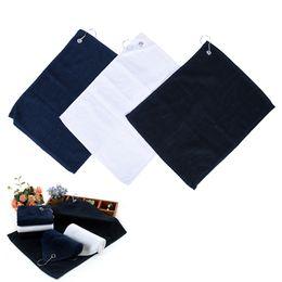 golf handtücher Rabatt 30 * 40 CM Golf Handtuch Baumwolle Komfortable Sport Handtuch Mit Geistigen Haken Karabiner