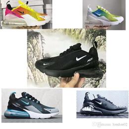super popular 855ee b097f 2019 nike air max Off white Flyknit Utility vapormax 270 nouveau Chaussures  De Course Hommes Femmes Formateur Noir Blanc Oreo Teal Photo Bleu Baskets  De ...