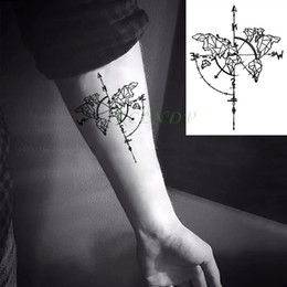 2019 tatuagem lobo mulher Tatuagem Temporária À Prova D 'Água lobo raposa lobos baleia coruja animal geométrico tatto flash tatoo tatuagens falsas para a menina mulher homem miúdo 7 tatuagem lobo mulher barato
