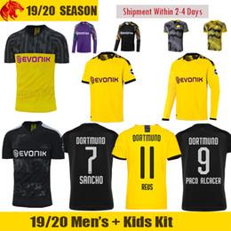 Crianças borussia on-line-19 20 Home yellow away black third Soccer Jersey 2019 2020 Jersey football shirt