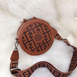 80d9daee107 wholesale fashion designer Circular crossbody messenger bags luxury  handbags women shoulder bag PU leather muticolor brand bags