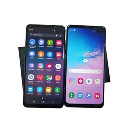 2019 pantallas de visualización móviles Nueva llegada de Alta Calidad Goophone S10Plus S10 + 1G Ram 8G Rom Pantalla de Pantalla de 6.9 Pulgadas Smartphone puede mostrar 4G real 3G Teléfono Móvil rebajas pantallas de visualización móviles