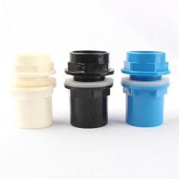Inner 32mm Engrossar Conectores de Tubulação de PVC Do Tanque de Peixes Aquarium Drainpipe Conector Juntas Tubo de Abastecimento de Água PVC Adaptador de Peças de