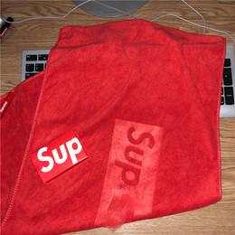 Les serviettes en Ligne-75 * 30 cm Populaire Logo Serviette Sports Sweat Absorbant Visage Serviette Peau Douce Fitness Running Serviettes À Cheveux Secs