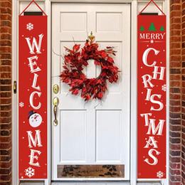 2019 visualizzare i segni Decorazioni di Buon Natale che appendono insegna d'attaccatura dell'insegna di Natale per natale all'aperto delle decorazioni dell'esposizione della porta dell'interno sconti visualizzare i segni