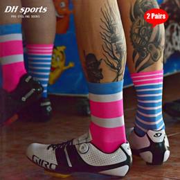 DH SPORT resistenza allusura lungo tubo calze sportive DH-21 Esecuzione Basket Calcio calzini di umidit/à Calzini Assorbimento escursionismo