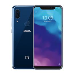 écran mobile zte Promotion Téléphone portable d'origine ZTE Axon 9 Pro 4G LTE 6 Go de RAM 64 Go de ROM Snapdragon 845 Octa Core 6.21