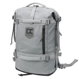 2019 segeltuchschuhe löcher Reisetasche Rucksack Outdoor Reisetasche Laptop Canvas Tasche Camping mit Schuhfach Kopfhörer Loch günstig segeltuchschuhe löcher