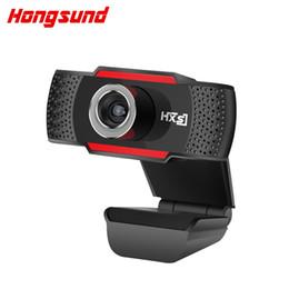 Hongsund usb microfone webcam hd 720 megapixel pc câmera com microfone de absorção para skype para android tv câmera rotativa do computador cheap android skype tv de Fornecedores de tv android skype