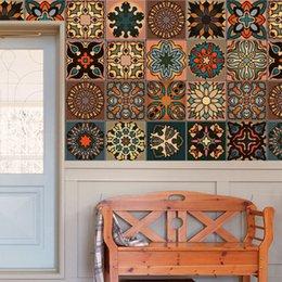 2019 design delle piastrelle della cucina stile marocchino vintage con eventuali adesivi per piastrelle di corrispondenza inchiostro denso e adesivi murali pesanti casa soggiorno cucina camera da letto design delle piastrelle della cucina economici