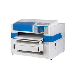 2019 máquinas plc Impressora DTG barato A2 Tamanho 407mm x 600mm Multicolor Direto Para Máquina de Impressora de camisa de T