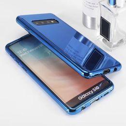 cobertura do espelho do telefone celular Desconto New galvanizado espelho celular phone case tampa traseira moda protector para iphone x xr xs max 7 8 plus samsung s10 tampa à prova de choque