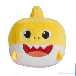 2019 Nouvelle Peluche jouets 3 Couleur Bébé Requin jouets Enfants Dessin Animé Musique Requin Pinkfong Animal Jouet enfants Cadeau De Noël ? partir de fabricateur