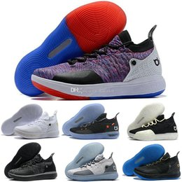 c38149ae881a Cheap KD 11 EP Elite Casual Shoes KD 11s Men Multicolor Peach Jam Mens  Doernbecher Kevin Durant 10 EYBL All-Star BHM Casual Shoes fashion