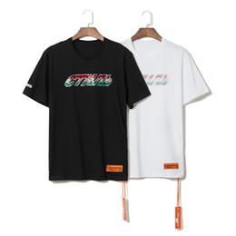 coleção nova das camisas dos homens Desconto New Heron Preston Nova Coleção Impressa Mulheres Homens camisetas Tees Hiphop Streetwear Homens Algodão de Manga Curta camiseta