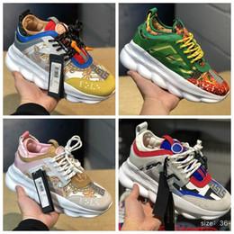 664c1f75f92a 2019 men shoes New Designer Chain Reaction scarpe da corsa da uomo di marca  di lusso donne sneakers sportive scarpe da ginnastica moda aumentare la  scarpa ...
