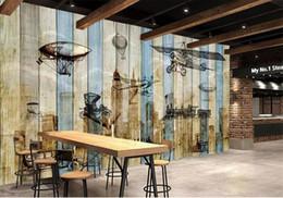 Trafic en direct en Ligne-Personnalisé taille 3d photo papier peint salon murale Restauration du trafic Boardboard 3D image canapé TV fond d'écran non-tissé autocollant