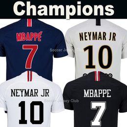 9a96a86cf9 2019 camisa vermelha 18 19 PSG camisa PARIS SAINT GERMAIN MBAPPE camisa de  futebol AIR JORDAN