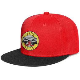 just hats Coupons - Guns-N'-Roses-Not-Just-Roofing for men and women flat brim hats red snapback design kids hats sports design your own custom your own Design