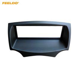Ford dash kit on-line-FEELDO Quadro de Fáscia de Rádio Estéreo Do Carro Para FORD Ka 2008-2016 Áudio 1DIN Dash Plate Painel de Montagem de Moldura Kit de Guarnição # 4982