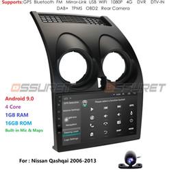 video hindi mp4 Sconti Autoradio Multimedia Video giocatore di navigazione GPS per Qashqai 1 2006-2013 J10 accessori berlina DVD No 2 din car audio Rds Cam dvd