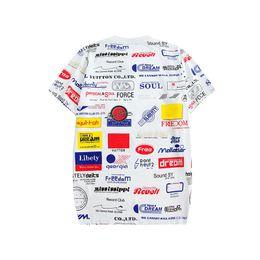 T-Shirts de Moda Masculina T-Shirts de Verão de Mulheres T-Shirts casuais respiráveis Homens T-Shirts de Pescoço Curto novinho em Folha T-Shirts de Roupa Tamanho S-2XL de