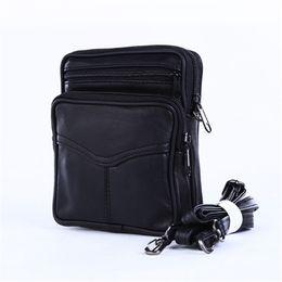 Cuir PU Style européen Gym Sacs à bandoulière Hommes Voyage Sac Sacs à main Hommes Noir Flap Bag ? partir de fabricateur